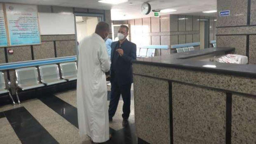 مستشفى النجيلة للحجر الصحى