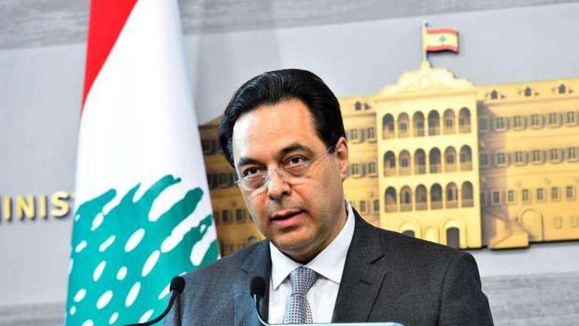 حسان دياب رئيس الوزراء اللبناني يتحرك ضد القصف الإسرائيلي على سوريا