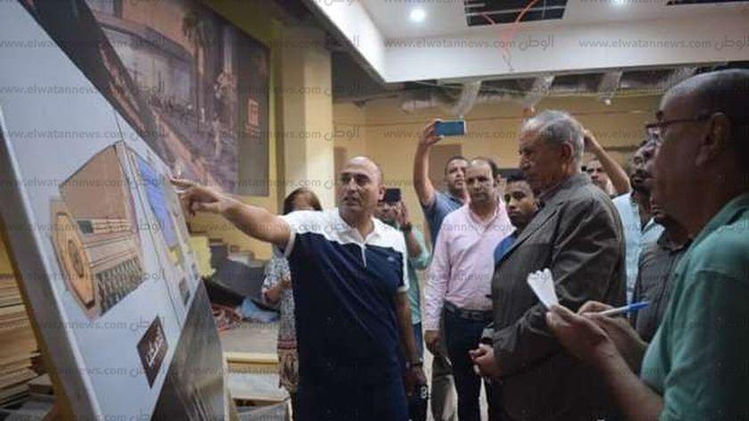 محافظ البحر الأحمر يتفقد متحف آثار الغردقة