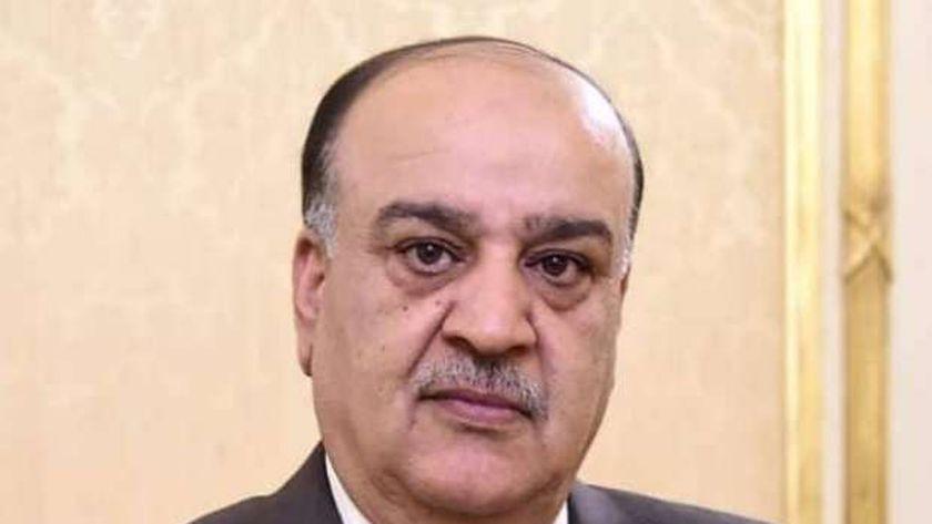 احمد رسلان رئيس لجنة الشئون العربية بالبرلمان السابق