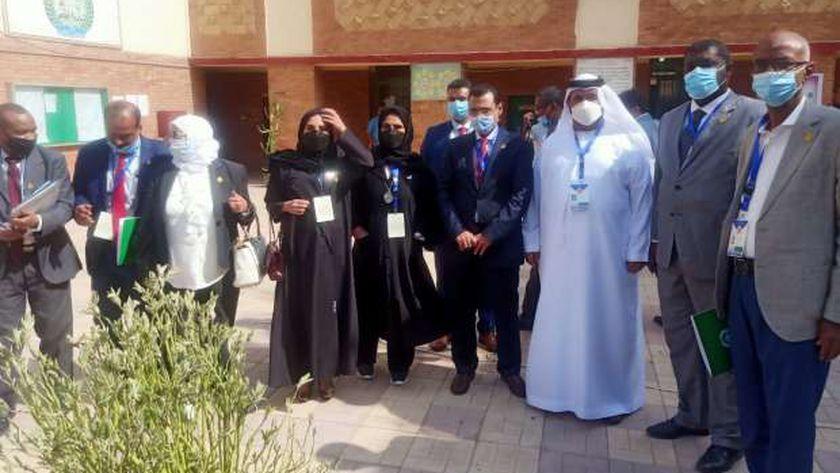 البرلمان العربي في مدرسة العجوزة لمتابعة الانتخابات: ندعم الديمقراطية