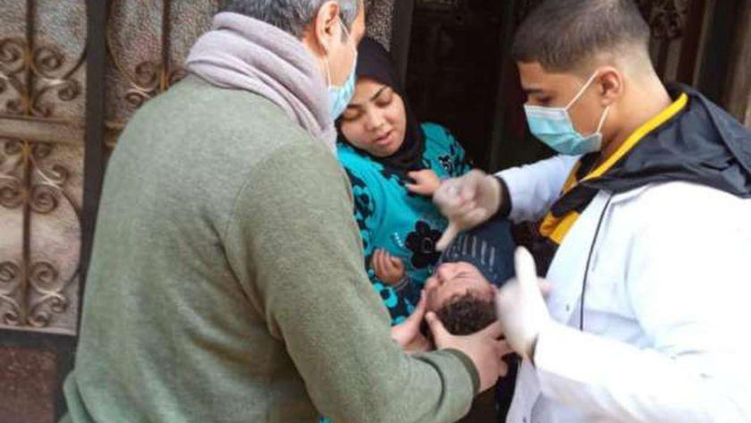 صورة «صحة كفرالشيخ»: تجريع 89.7% من المستهدف في حملة التطعيم ضد شلل الأطفال – المحافظات
