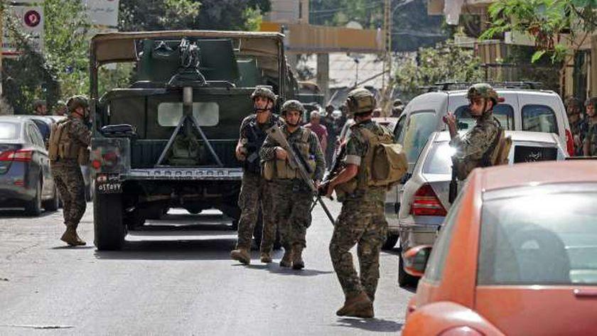 الجيش اللبناني ينتشر في بيروت