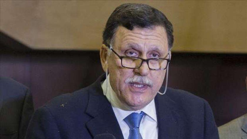 فائز السراج رئيس المجلس الرئاسي لحكومة الوفاق الوطني الليبية