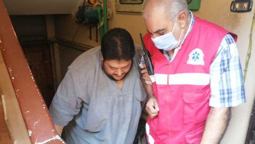 وزنه 270 كيلو جرام.. وزيرة الصحة تقرر علاج مواطن على نفقة الدولة بالغربية
