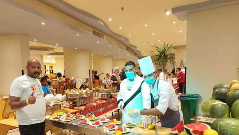 مهرجان البطيخ والمانجو لنزلاء السياحة الداخلية بفنادق الغردقة