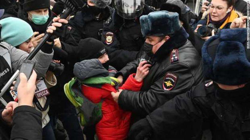 احتجاجات روسيا