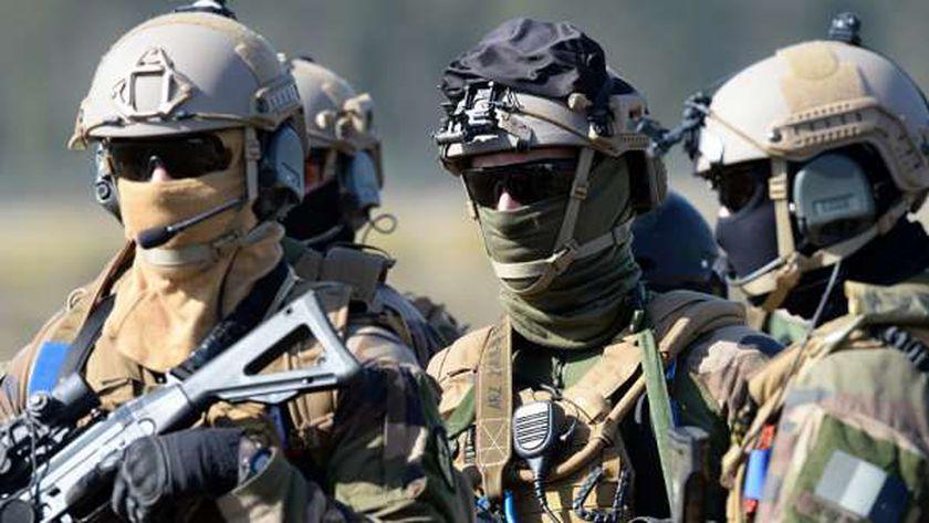 عناصر من الجيش الفرنسي