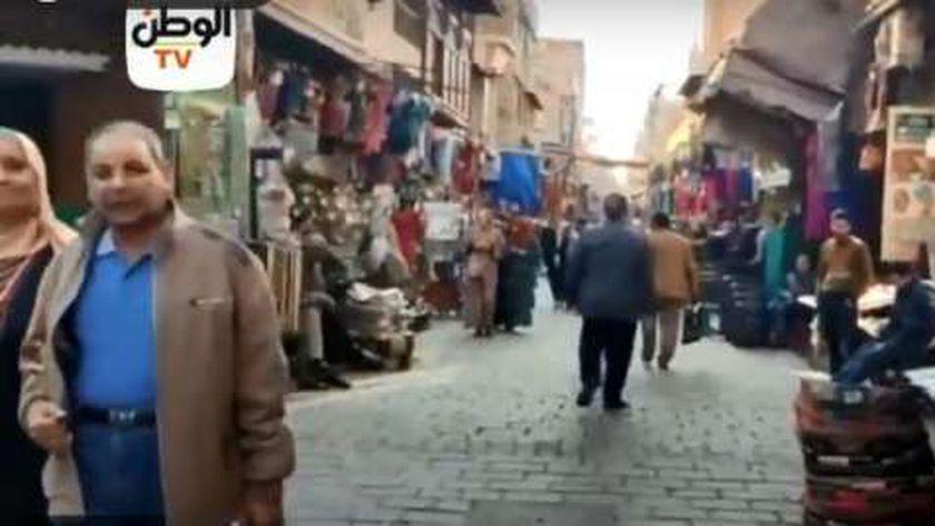صورة «الوطن» في المعز وخان الخليلي بعد ساعات من زيارة رئيس تونس – مصر