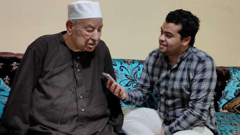 الشيخ الطبلاوي في حوار لـ  : شباب القراء وراء شائعة وفاتي - المحافظات -