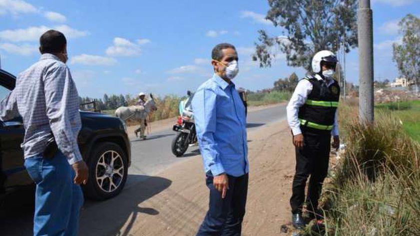 محافظ الغربية يكلف مدير مباحث المرور بخطة لتحقيق السيوله المرروية
