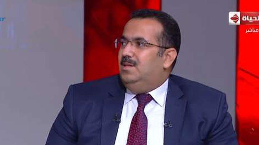 المستشار حسن حرك، عضو مجلس إدارة صندوق مكافحة الإدمان ومسئول حملة الكشف المبكر عن الإدمان بالجهاز الإداري للدولة