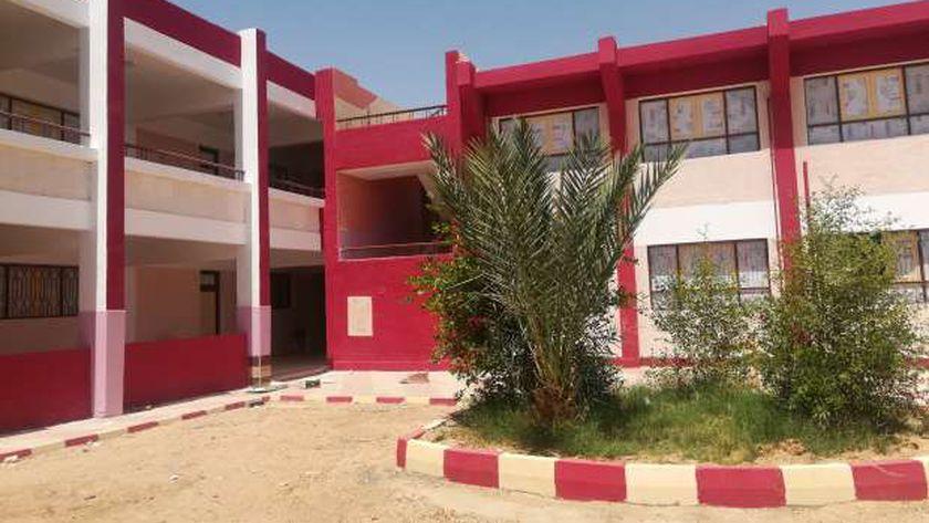 مدرسة الأمان للتعليم الأساسي في الوادي الجديد