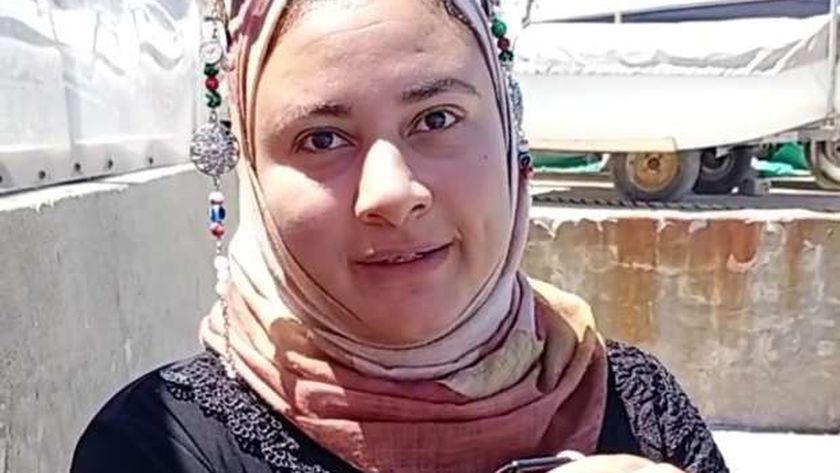 زوجة الشهيد أحمد منسي
