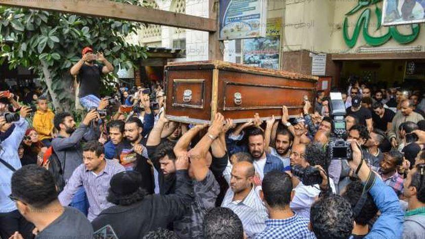 جنازة هيثم أحمد زكي