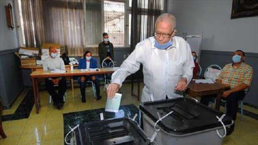 جانب من انتخابات البرلمان