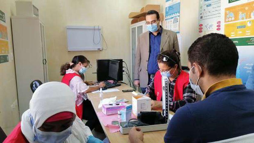 فعاليات مبادرة الرئيس 100مليون صحة بالبحر الأحمر