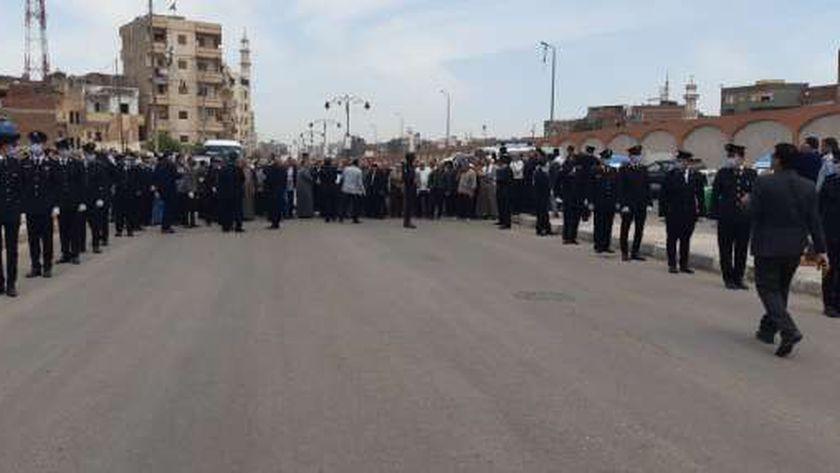 جنازة الشهيد محمد الحوفي