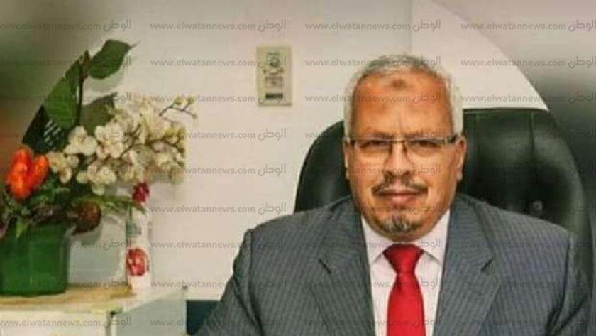 المهندس محمد نجيب رئيس شركة مياة الشرب بالمنوفية