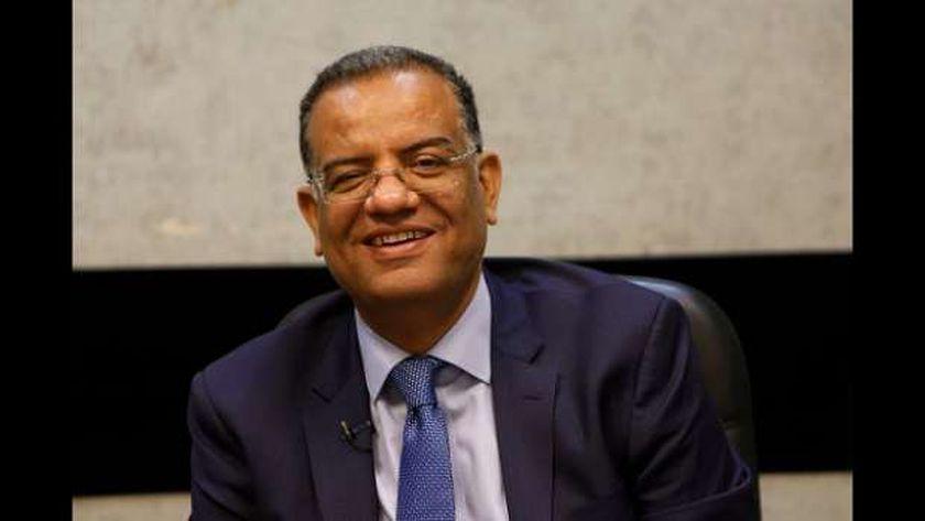 الاستاذ محمود مسلم، رئيس تحرير جريدة الوطن، ورئيس شبكة قنوات Dmc،