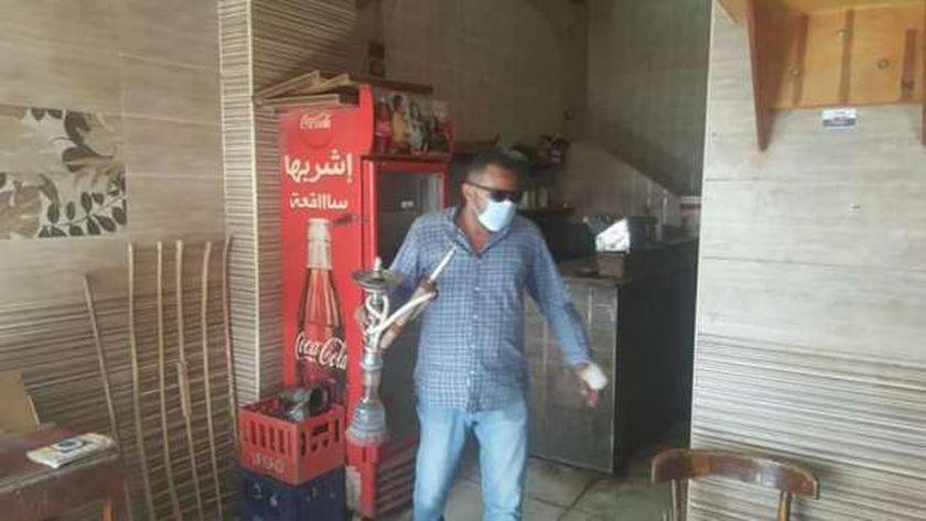"""حملات لمصادرة الشيشه """"ارشيف"""""""