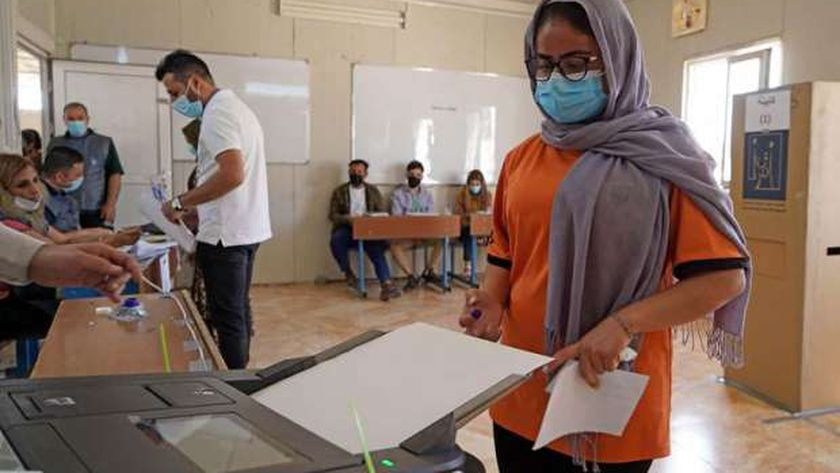 مراكز الاقتراع في الانتخابات البرلمانية بـ العراق