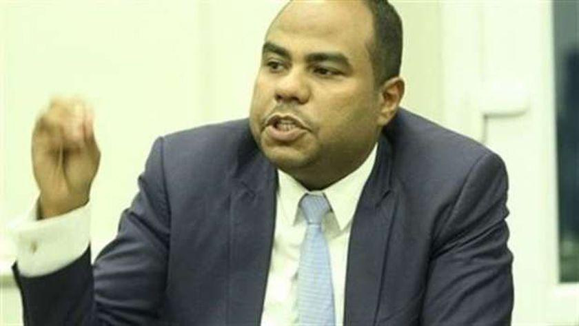 الدكتور محمود عنبر، أستاذ الاقتصاد بجامعة أسوان