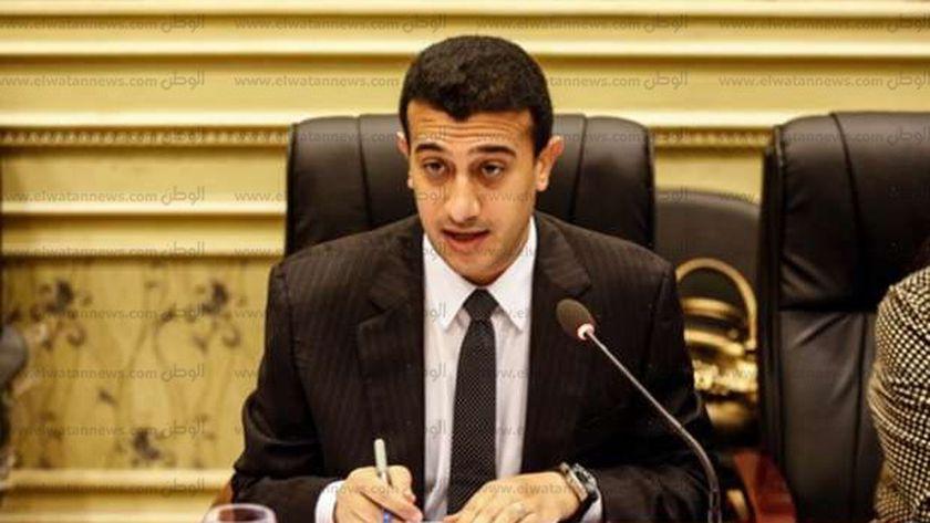النائب طارق الخولي، أمين سر لجنة العلاقات الخارجية بمجلس النواب، وعضو لجنة العفو الرئاسي
