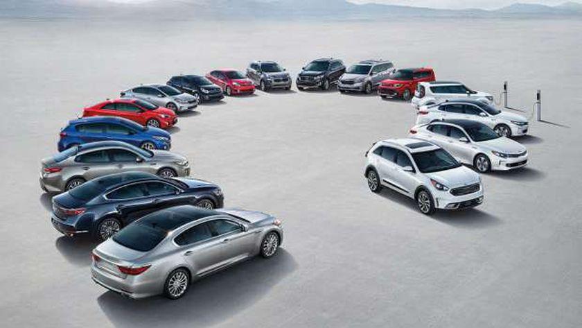 فئات السيارات المعفاة رسمياً من الضريبة الجمركية