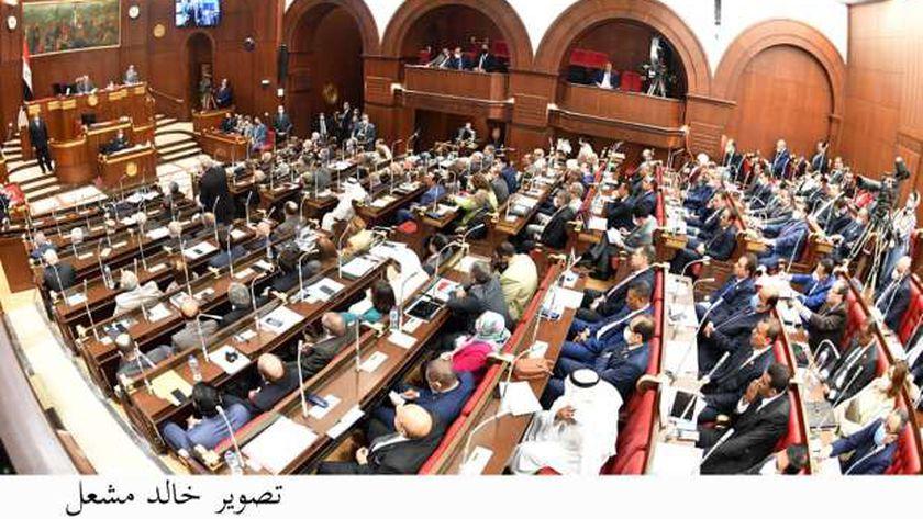 مجلس الشيوخ فى جلسته العامة