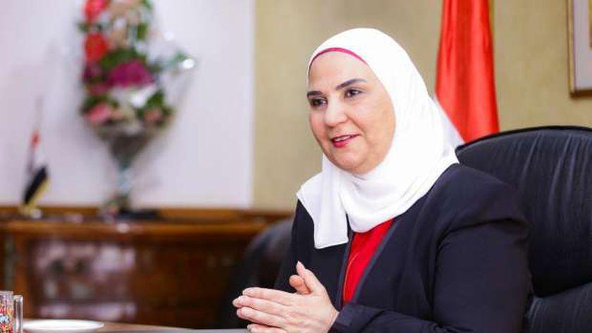 الدكتورة نيفين قباج وزيرة التضامن الاجتماعي