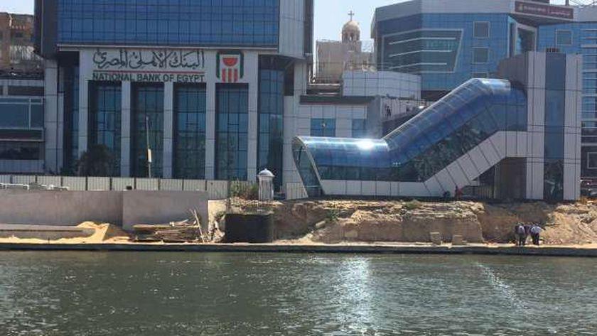 """""""الإسكان"""" يتفقدون المرحلة الأولى الجاري تنفيذها بـ""""ممشى أهل مصر"""""""