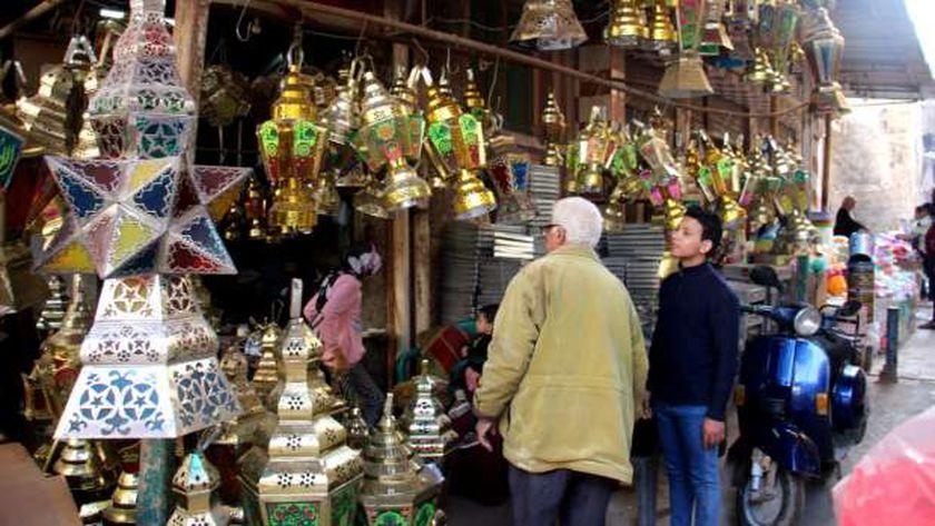 الأجواء الرمضانية بمصر