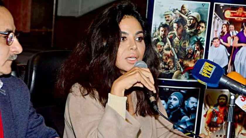 الفنانة نسرين أمين