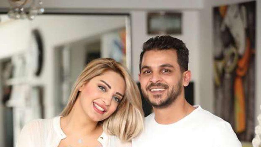 مي حلمي ومحمد رشاد