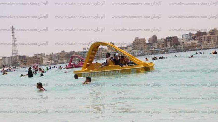 شاطئ روميل مرسى مطروح