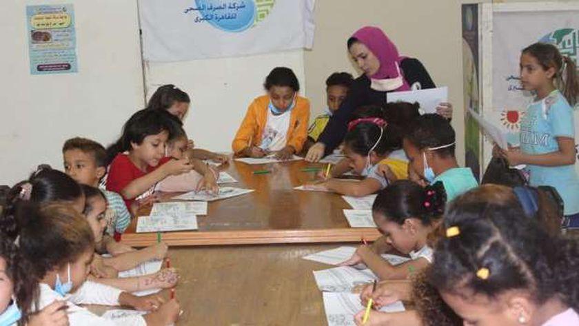 خلال إطلاق فعاليات حملة طرق الأبواب بمحافظة القاهرة بحي الأسمرات