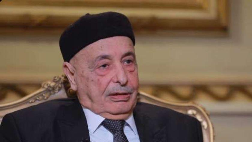 عقيلة صالح رئيس البرلمان الليبي