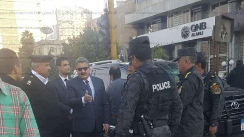 اللواء هشام العراقى مساعد أول وزير الداخلية لأمن الجيزة