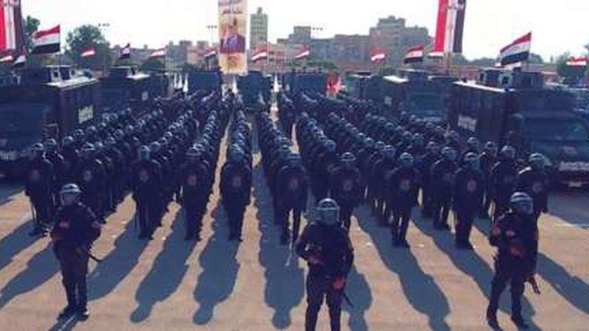 رجال الشرطة المصرية