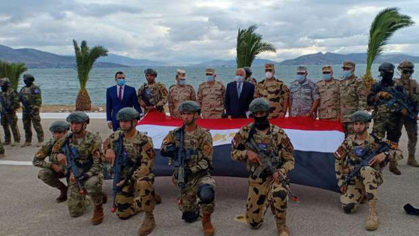 القوات الخاصة المصرية تشارك في التدريب الرباعي «هرقل 21» باليونان