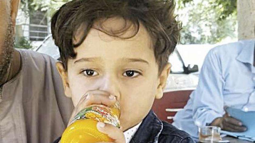 الطفل زياد