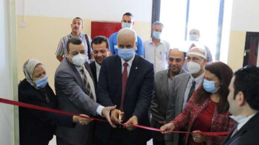 رئيس جامعة الإسكندرية يفتتح المركز الجامعي للتطوير المهني والوظيفى بتربية