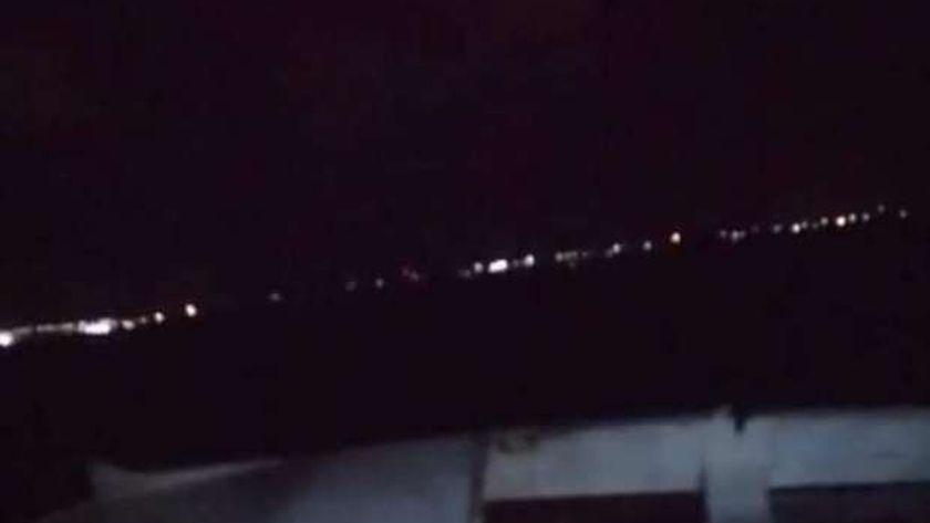 المركب الغارق في بحيرة مريوط