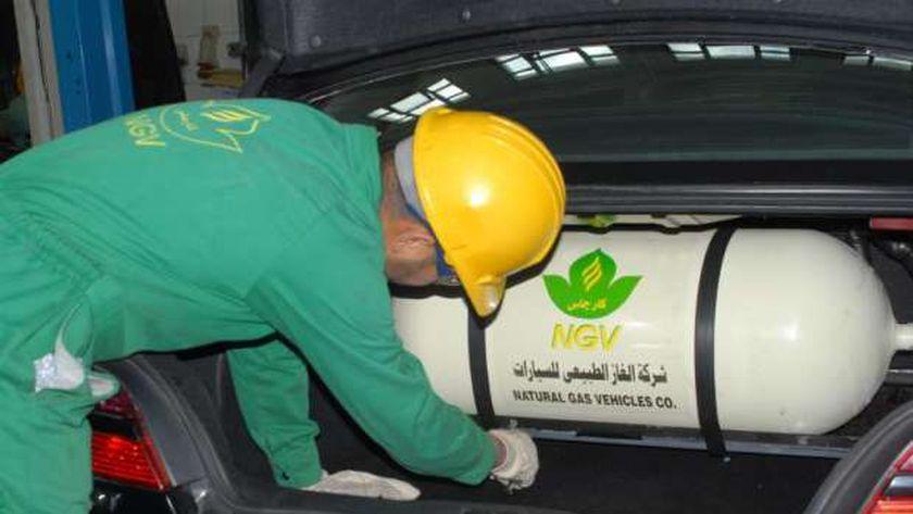 تركيب الغاز الطبيعي