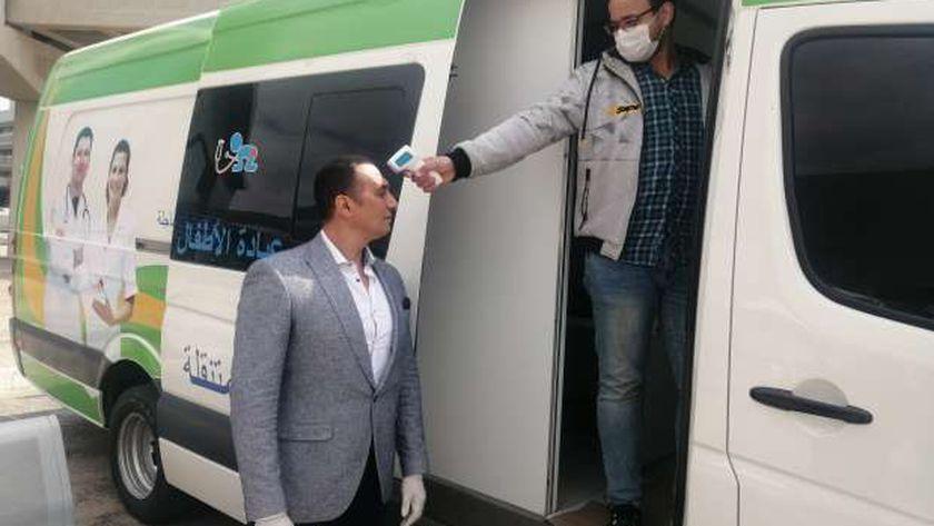 مطار مرسى علم الدولي يستقبل رحلة من جوهانسبرج على متنها 75 مصري