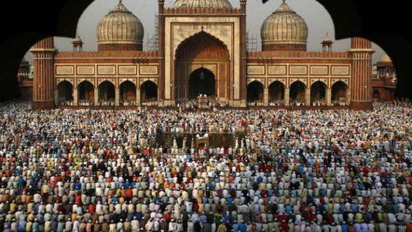 صلاة عيد الفطر في الهند (أرشيفية)دول