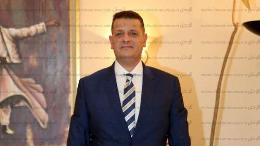 النائب طارق رضوان ضمن القائمة الوطنية من أجل مصر
