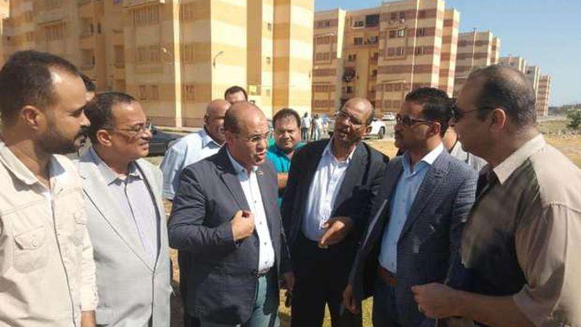 جولات في جميع مدن السويس لمرشح قائمة في حب مصر