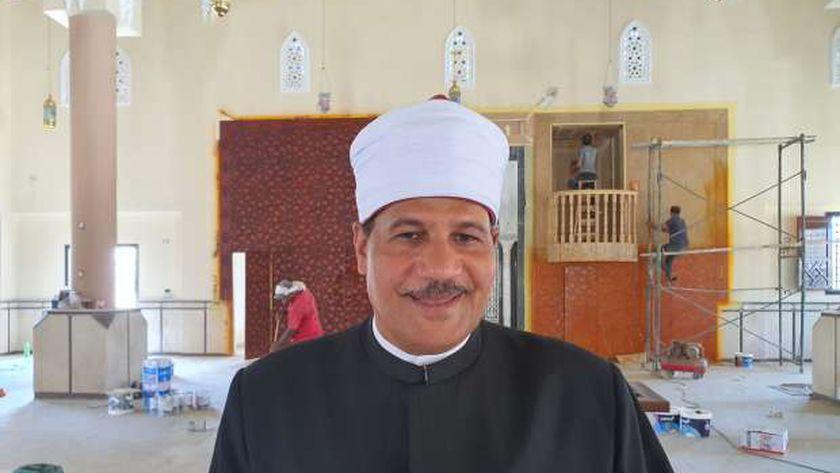 وكيل وزارة الأوقاف بجنوب سيناء